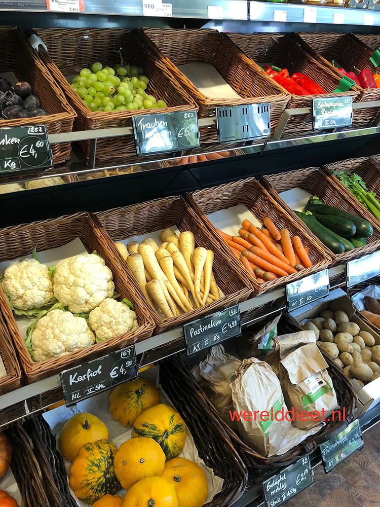 Wat is vegan? groenten